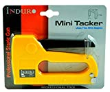 INDURO Stapler for Wood Yellow and Black (Light Duty)
