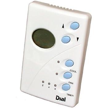Dial 7624 Digital Low Voltage Sw& Cooler Thermostat  sc 1 st  Amazon.com : swamp cooler wiring diagram - yogabreezes.com