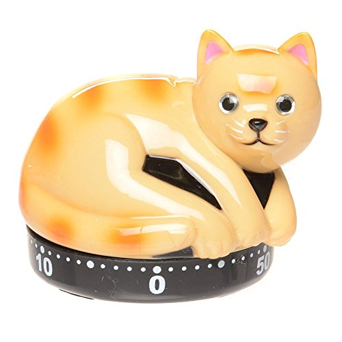 Tabby Cat Kitchen Timer by Cosa Nova