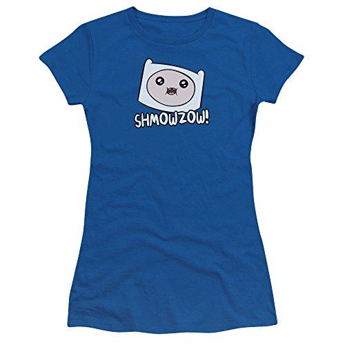 Pour Blue T Time Adventure Femmes shirt Jeunes Royal Shmowzow w8TwxIZq
