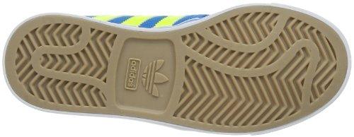 adidas Originals Seeley J-1 G98091 Unisex - Kinder Sneaker Blau (SOLAR BLUE S14 / ELECTRICITY / RUNNING WHITE FTW)