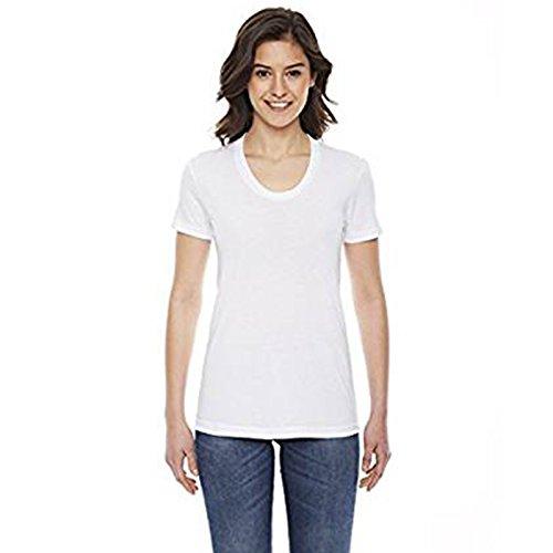 Blanc American Apparel shirt T Moderne Femme qaxgW0Pxwz