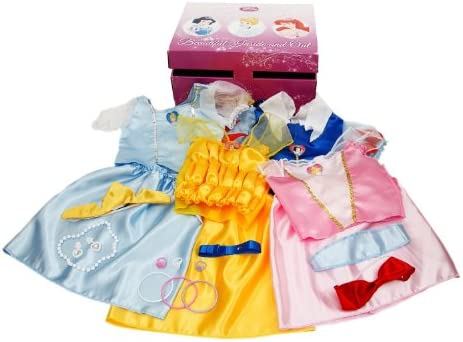 clothing, shoes, jewelry,  costumes, accessories 8 image Disney Princess Dress Up Trunk (Amazon Exclusive deals