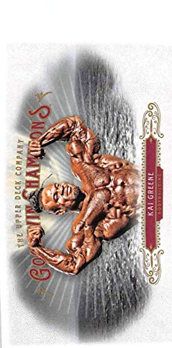 Greene Upper Deck - 2018 Upper Deck Goodwin Champions Minis #67 Kai Greene Mini Trading Card (about half size of regular card)