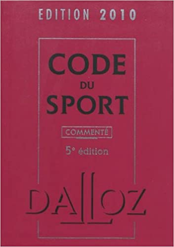 Lire en ligne Code du sport pdf, epub