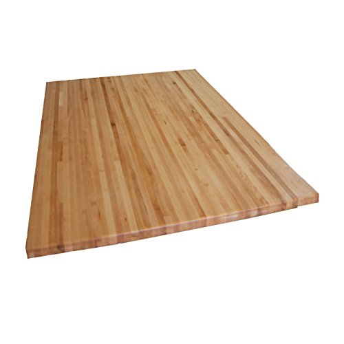 Forever Joint Hard Maple Butcher Block Restaurant Tabletop - 1.5