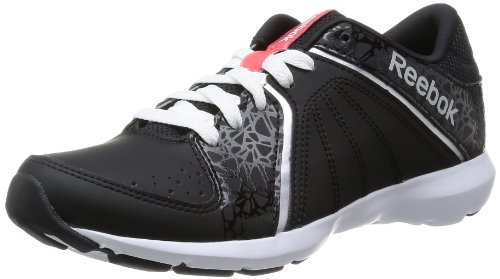 Reebok Studio Beat VI Low RS - Zapatillas para mujer Mehrfarbig (BLACK/WHITE/VICTORY PINK/PURE SILVER)