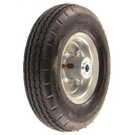 Pneumatic Wheel, 8 In, 220 lb