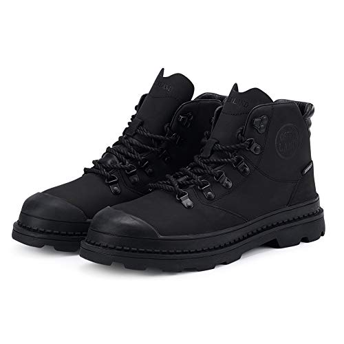 OSTERLAND Mens Waterproof Casual Hiking Work Boots