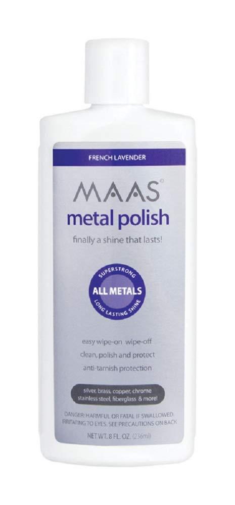 MAAS Metal Polish, 8-oz. - Quantity 6