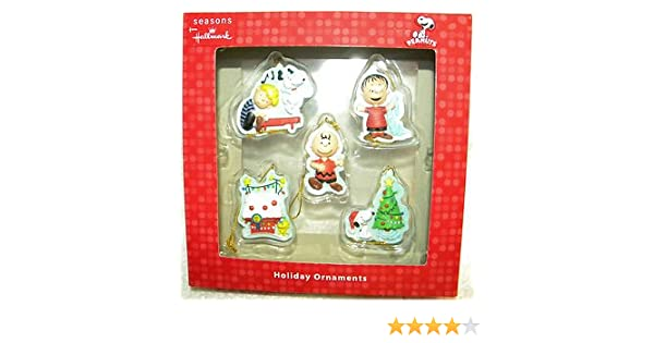 Amazon.com: Hallmark Peanuts Charlie Brown Snoopy Christmas Ornaments: Home  & Kitchen - Amazon.com: Hallmark Peanuts Charlie Brown Snoopy Christmas