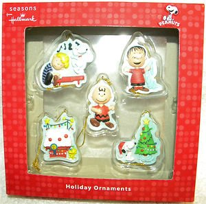 hallmark peanuts charlie brown snoopy christmas ornaments - Charlie Brown And Snoopy Christmas Decorations
