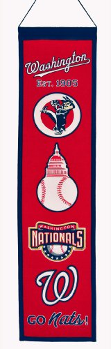 MLB Washington Nationals Heritage Banner