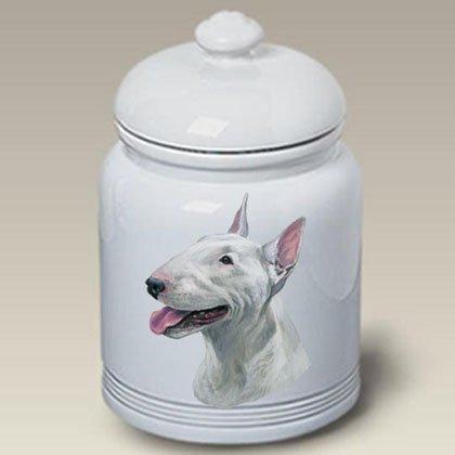 Terrier Cookie Jar - Bull Terrier - Linda Picken Treat Jar