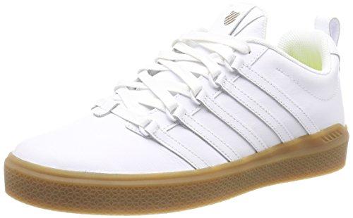 K-suisse Hommes Donovan Baskets, Blanc (blanc / Gomme 151)