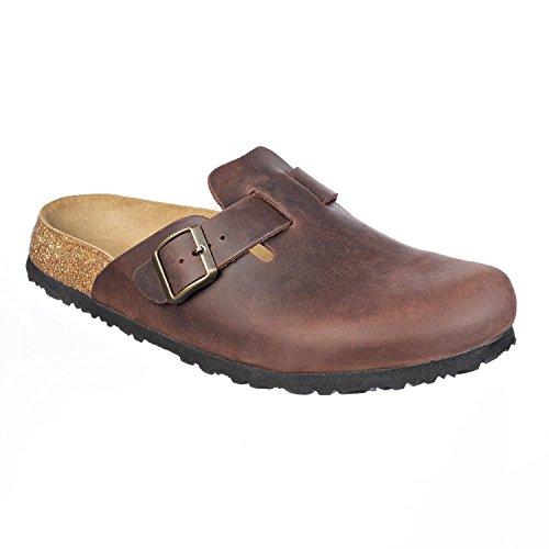 Pictures of JOE N JOYCE Slippers Clogs Shoes Leather Habana 44 EU (11 M US Men) 44 EU (11 M US Men) 1