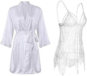 IngerT Women Babydoll Sleepwear Lingerie Slip