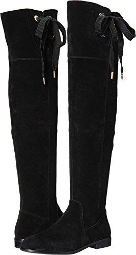 Kate Spade New York Women's Rebecca Black Cow Suede 7.5 M (Black Cow Suede Footwear)