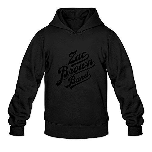 WYBU Men's Zac Brown Band Long Sleeve Sweater Size XXL Black,100% (Kanye West Halloween Ideas)