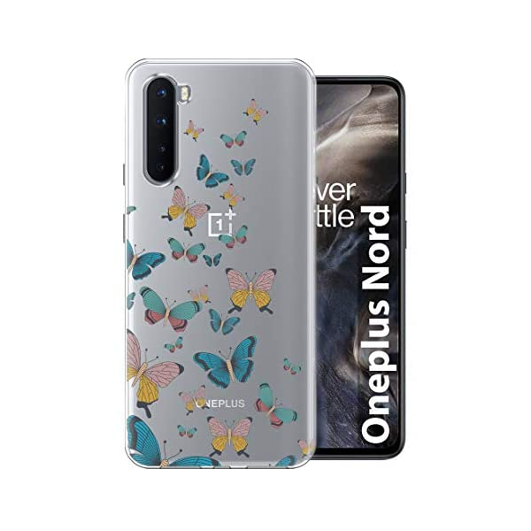 Fashionury Back Cover for OnePlus Nord (Soft|TPU|Transparent) 2021 July Compatibility - Designed for OnePlus Nord Reliable Protection - This Desginer cover provide full 360* protection to the mobile, As, It covers from the four sides of your phone. This cover helps to protect your phone from Accidental Drops, Bumps and Scretches. Installation - Simply has to unbox the cover and has to apply directly, No Tool is required.