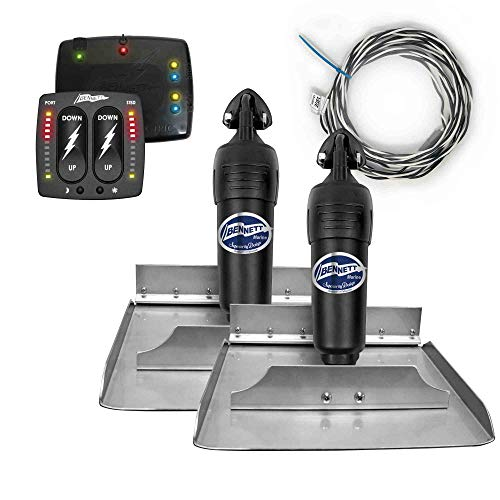 (Bennett Complete Kit Bolt Electric Trim Tab (BOLT1212) w/Indication Control (BCI8000), 12