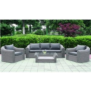 Rattan Garden Furniture Cyprus Poly Rattan Colour Grey Amazon
