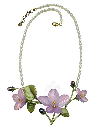 Michael Michaud for Silver Seasons African Violet Necklace 8926