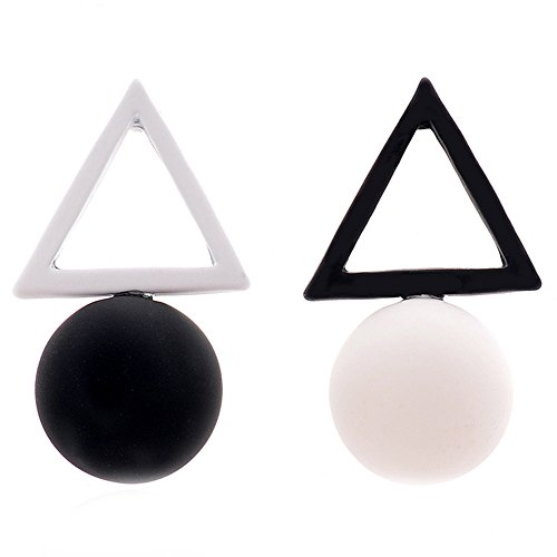 MISSUSO Geometric Different Earrings Fashion product image