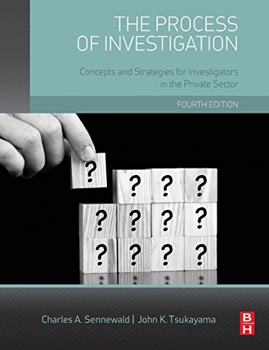 The Process of Investigation, Fourth Edition: Concepts and Strategies for Investigators in the Private - Complaints Glasses Usa