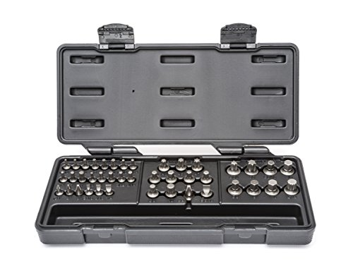 GEARWRENCH 81602 41 Pc. Metric Ratcheting Wrench SAE/Metric Hex/Torx/Triple Square/Slotted/Phillips Insert Bit Set, Black