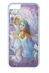 Flower between wooden boards PC For Iphone 6 Plus 5.5 Phone Case Cover WhiteKimberly Kurzendoerfer