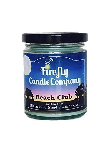 Beach Club Soy Candle 8oz (Pineapple The Club)