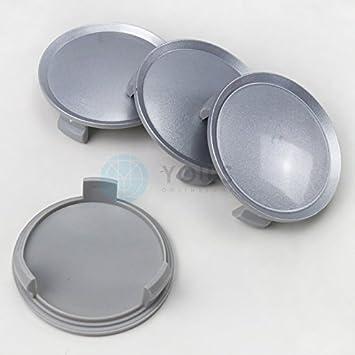 4x hub cap tapa tapacubos 75,0 -64 , 0 mm plata Pintado: Amazon.es: Coche y moto