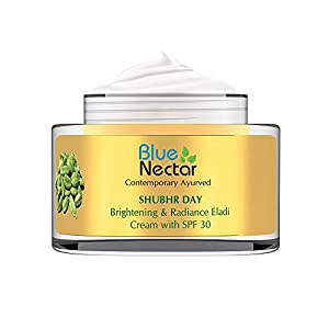 Blue Nectar Brightening & Radiance Eladi Cream with SPF 30 (Women, 50 g)
