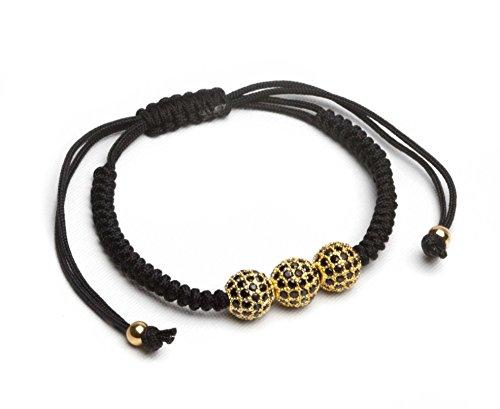 Yellow Gold Braided Bracelet - 4