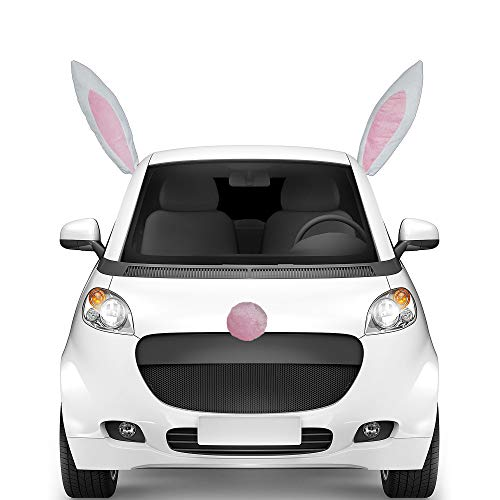 Easter Bunny Plush Car Character Kit, 3 Ct.