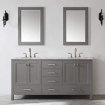 Miseno 723072 Gr Ca Marvin 72 Free Standing Double Vanity Set With
