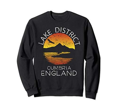 Lake District Sweatshirt Cumbria England Hiking Walks Gift ()