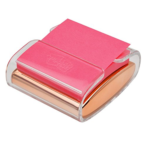 Post-it Pop-up Note Dispenser, Rose Gold, 3 in x 3 in, 1 Dispenser/Pack ()