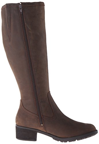 Hush Puppies Emel Overton - Botas mujer Dark Brown