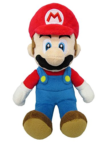 "Sanei Super Mario All Star Collection 9.5"" Mario Plush, Small from Sanei"
