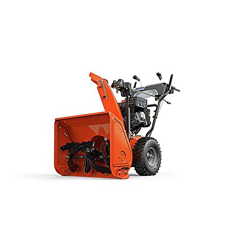 Snow Blower, Gas Fuel, Clearing Path 24″