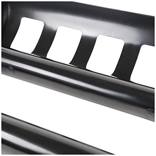 Spec-D Tuning BB3-SIV9915BK-WB Black Bull Bar with Skid Plate