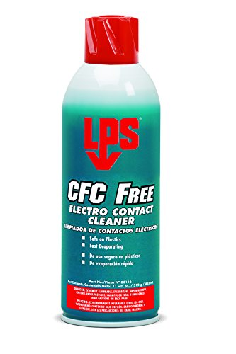 Contact Electro Cleaner Lps (LPS CFC Free Electro Contact Cleaner, 11 oz Aerosol (Pack of 12))
