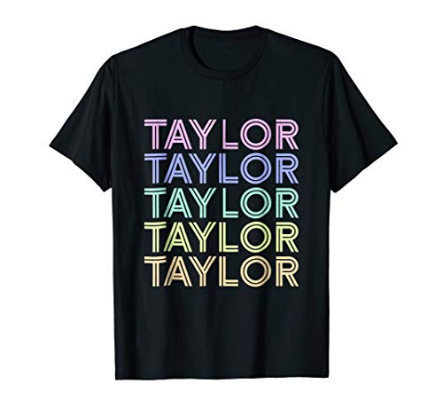 Taylor Sweet Candy Heart Vintage T-Shirt Love Taylor