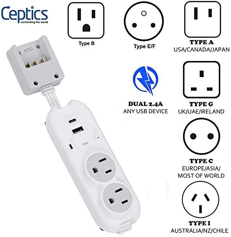 Safest Travel Power Strip Adapter product image