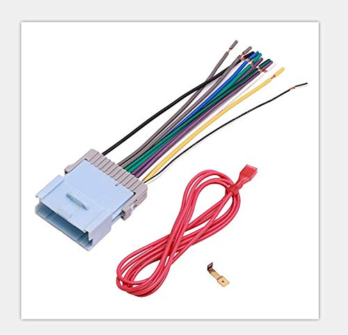 Audio Car Stereo Radio Wire Harness Plug and Antenna Adapter for some Chevrolet and Pontiac Vehicles Compatible Vehicles Listed Below