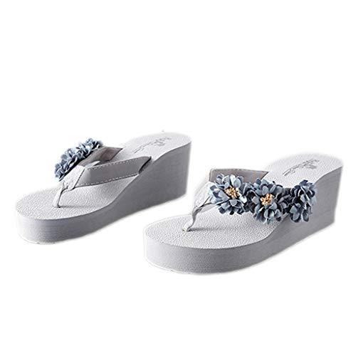 colore 37eu Slippers Con Scarpe D A Antiscivolo Spiaggia Ladies Indossare Fashion Slipper Spesso Fondo Da Dimensioni Aminshap 7SqBwZB
