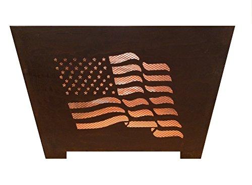 Cheap Esschert Design FF1001 Flag Fire Basket