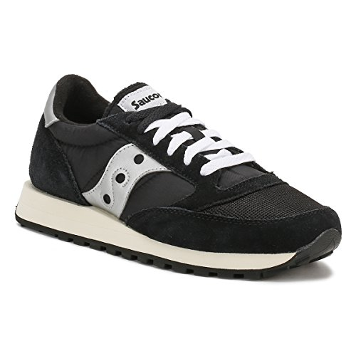 Saucony Men's Jazz O Vintage Cross Trainers, Black Black / White